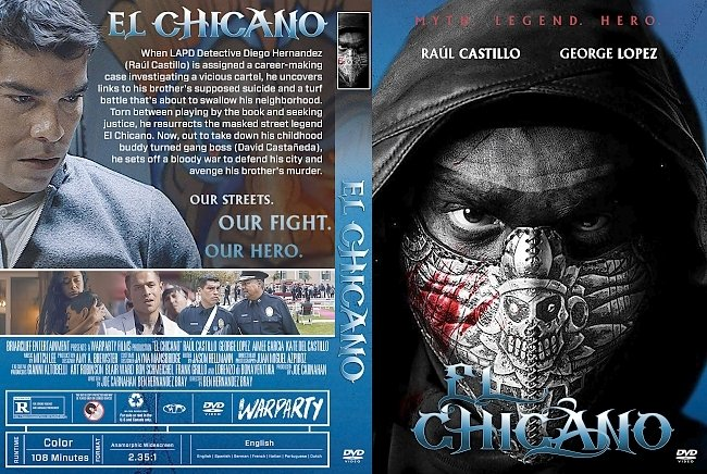 dvd cover El Chicano DVD Cover