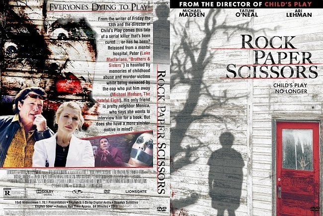dvd cover Rock, Paper, Scissors DVD Cover