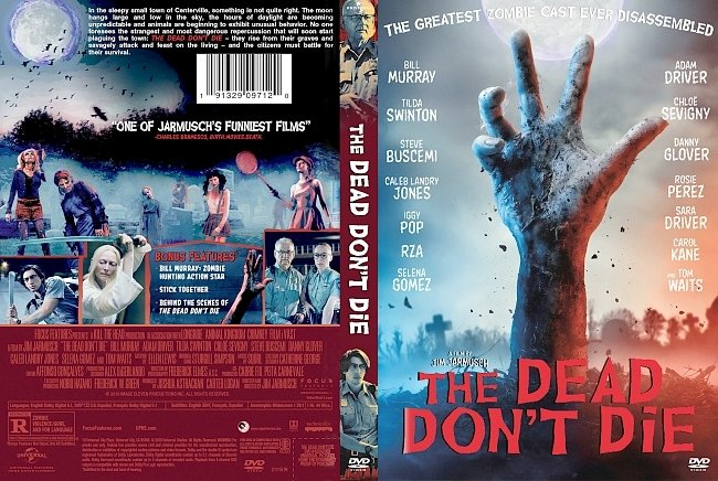 dvd cover The Dead Don't Die DVD Cover