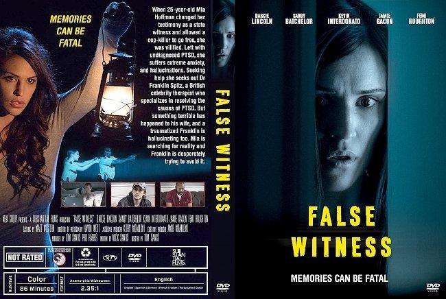 dvd cover False Witness DVD Cover