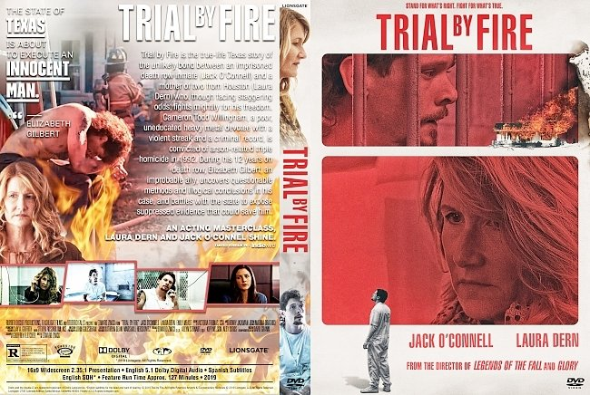 dvd cover Trial by Fire DVD Cover