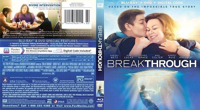 dvd cover Breakthrough Bluray Cover