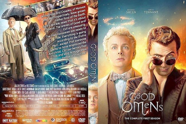 dvd cover Good Omens Season 1 DVD Cover