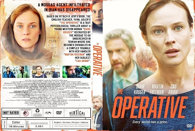 dvd cover The Operative DVD Cover