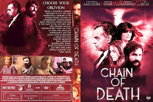 dvd cover Chain Of Death DVD Cover