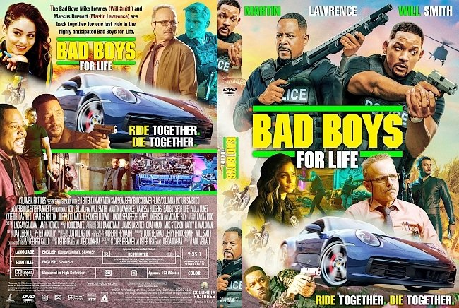 dvd cover Bad Boys for Life DVD Cover