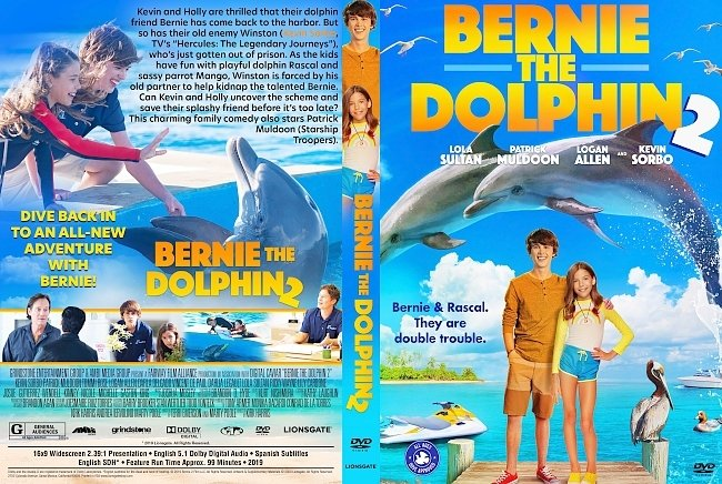 dvd cover Bernie the Dolphin 2 DVD Cover