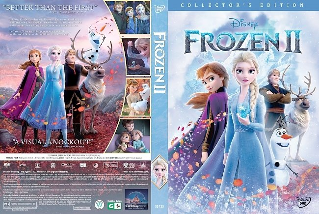 dvd cover Frozen II DVD Cover
