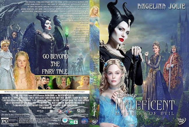 dvd cover Maleficent Mistress of Evil DVD Cover