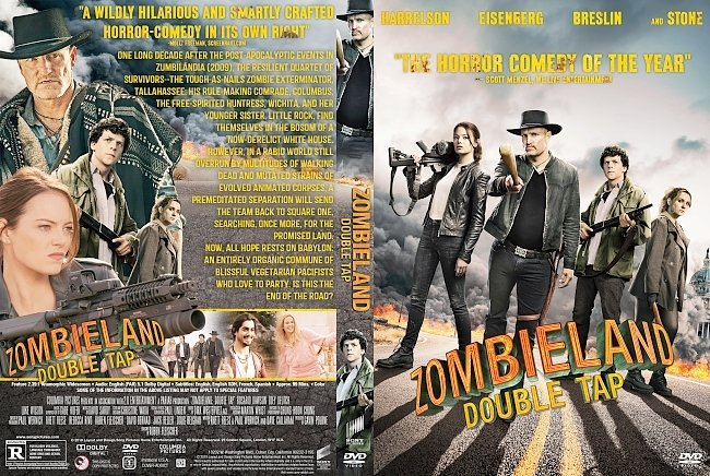 dvd cover Zombieland Double Tap DVD Cover