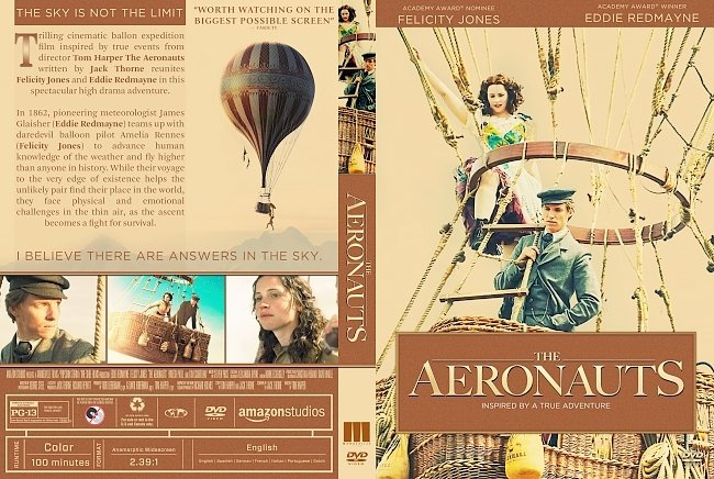 dvd cover The Aeronauts DVD Cover