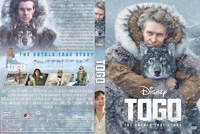 dvd cover Togo DVD Cover