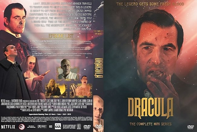 dvd cover Dracula The Complete Mini Series DVD Cover
