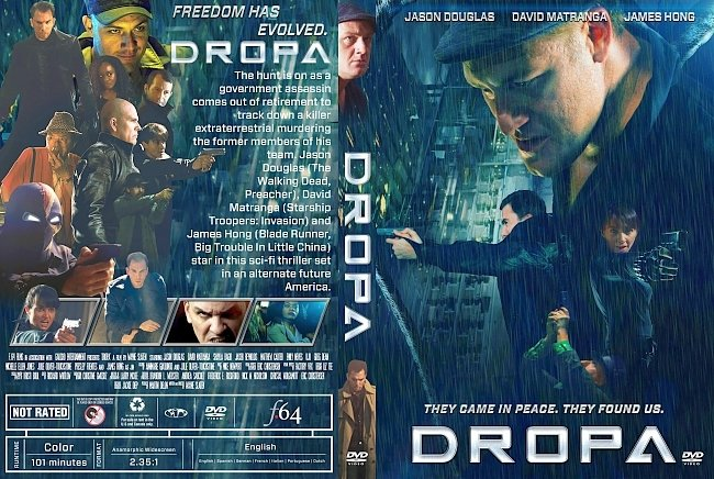 dvd cover Dropa DVD Cover