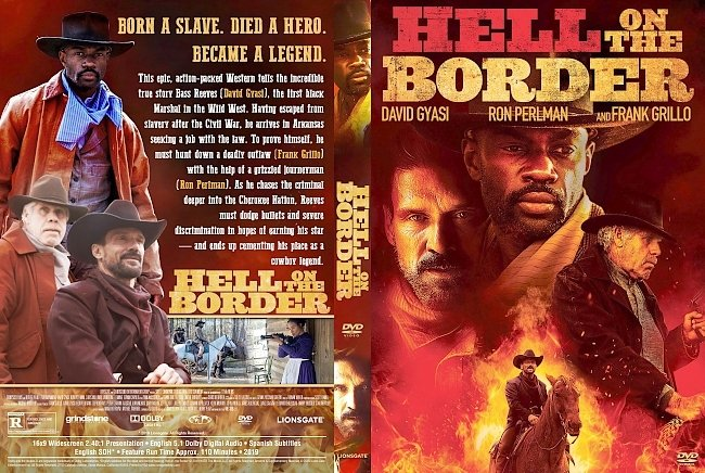 dvd cover Hell on the Border DVD Cover