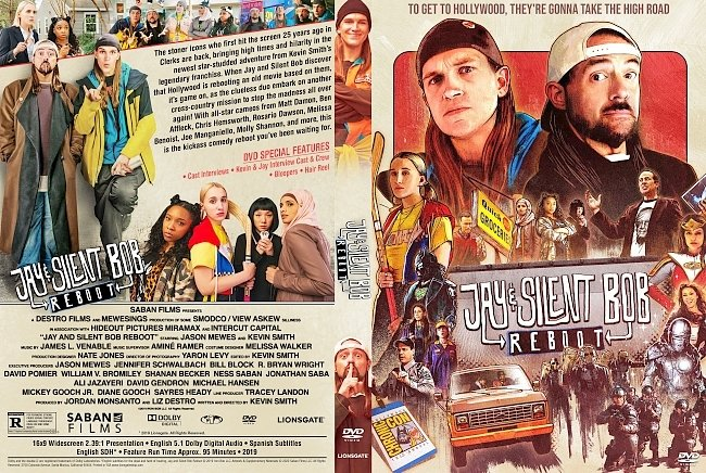 dvd cover Jay and Silent Bob Reboot DVD Cover
