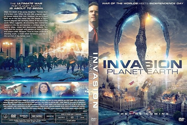 dvd cover Invasion Planet Earth DVD Cover