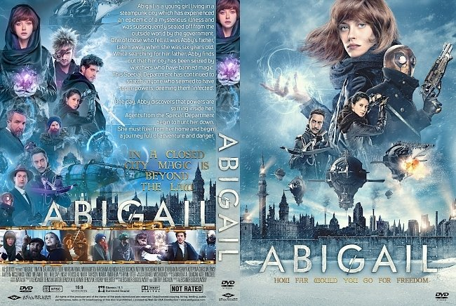 dvd cover Abigail DVD Cover