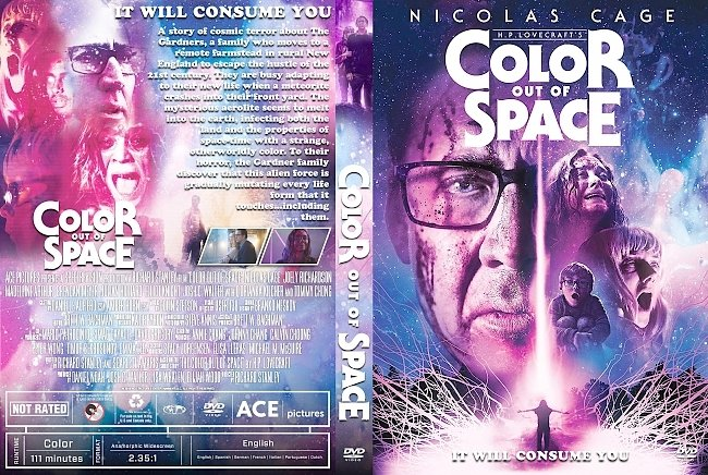 dvd cover Color Out of Space DVD Cover