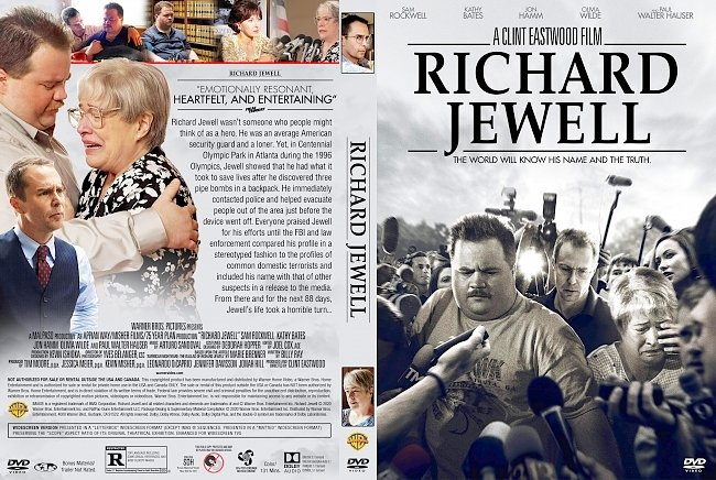 dvd cover Richard Jewell DVD Cover