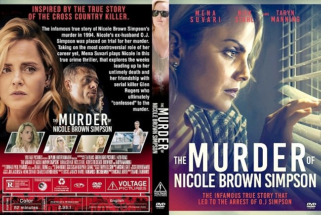 dvd cover The Murder of Nicole Brown Simpson DVD Cover