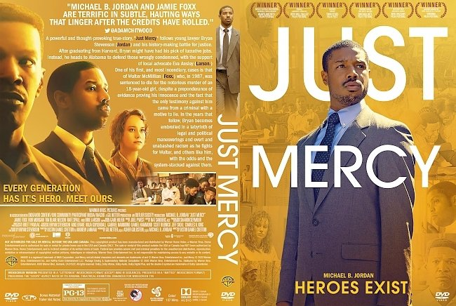 dvd cover Just Mercy DVD Cover