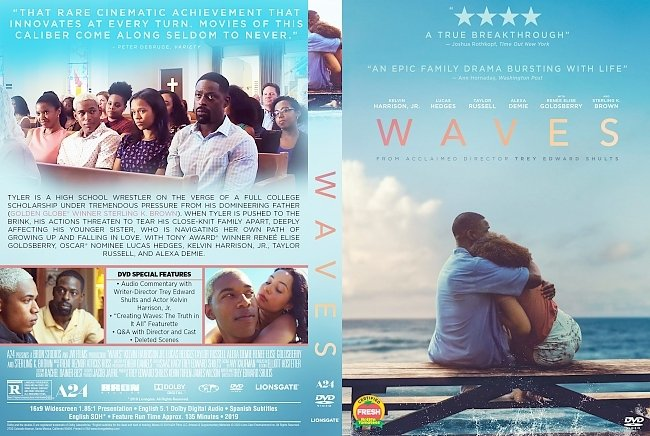 dvd cover Waves DVD Cover