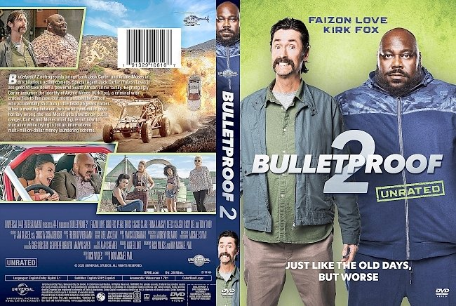 dvd cover Bulletproof 2 DVD Cover