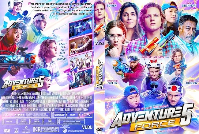 dvd cover Adventure Force 5 DVD Cover