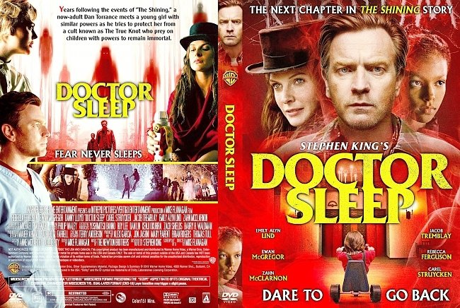 dvd cover Doctor Sleep DVD Cover