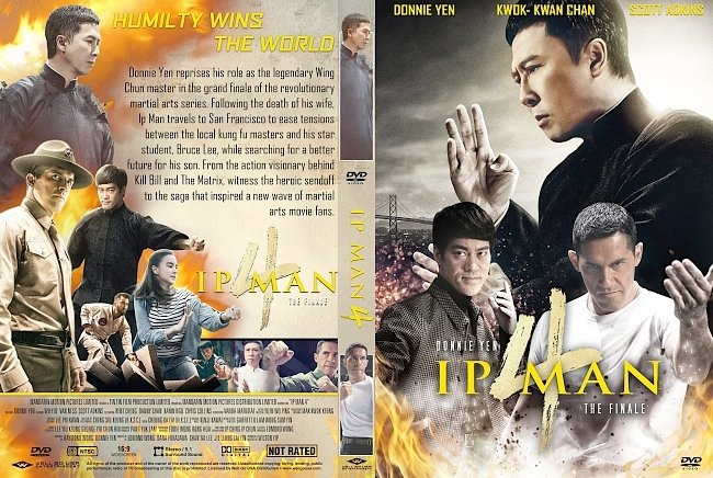dvd cover Ip Man 4 The Finale DVD Cover