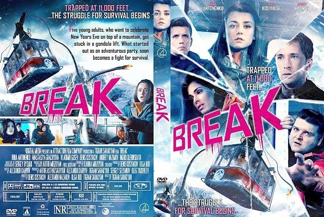 dvd cover Break DVD Cover