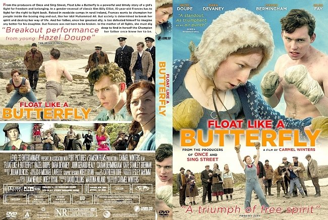 dvd cover Float Like a Butterfly DVD Cover