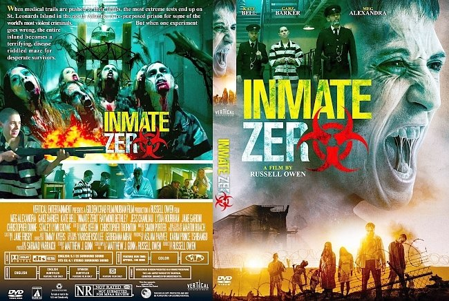 dvd cover Inmate Zero (Patients of a Saint) DVD Cover