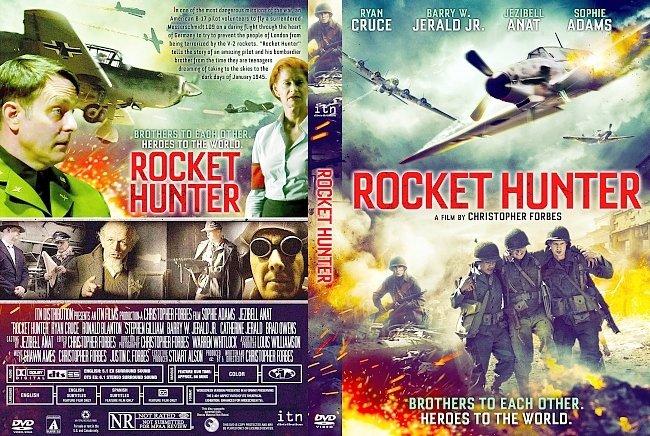 dvd cover Rocket Hunter DVD Cover