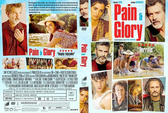 dvd cover Pain and Glory DVD Cover