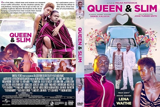 dvd cover Queen & Slim DVD Cover