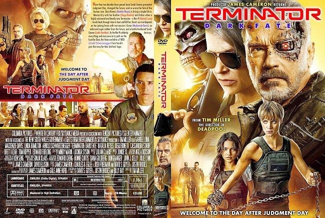 dvd cover Terminator Dark Fate DVD Cover