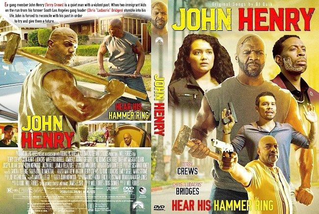 dvd cover John Henry DVD Cover