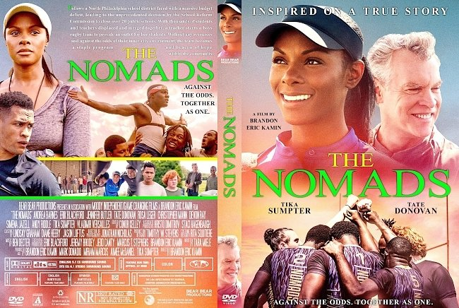 dvd cover The Nomads DVD Cover