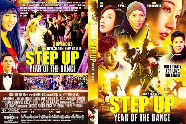 dvd cover Step Up Year Of The Dance DVD Cover