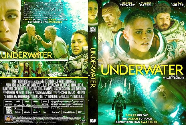 dvd cover Underwater DVD Cover
