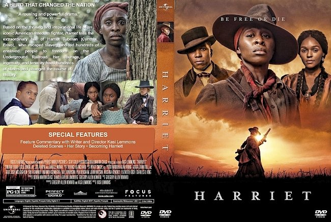 dvd cover Harriet DVD Cover