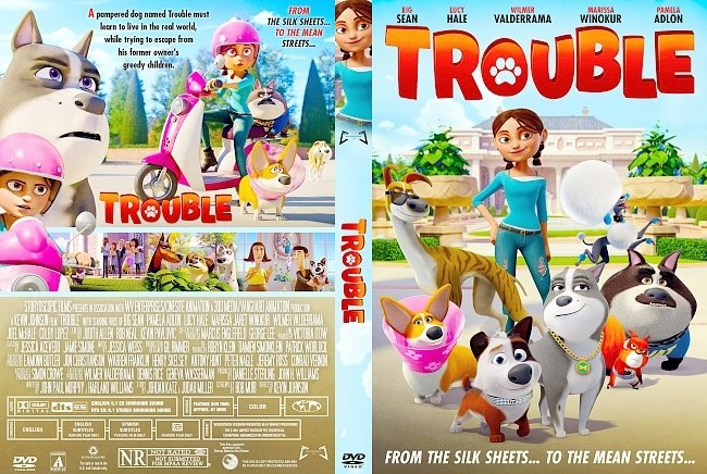 dvd cover Trouble DVD Cover