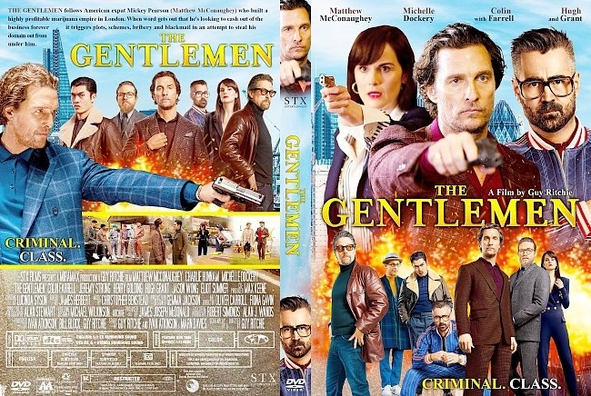 dvd cover The Gentlemen DVD Cover