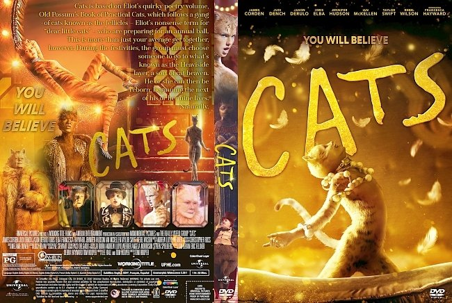 dvd cover Cats DVD Cover (that one)