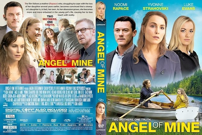 dvd cover Angel of Mine DVD Cover