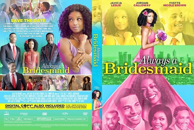 dvd cover Always a Bridesmaid DVD Cover