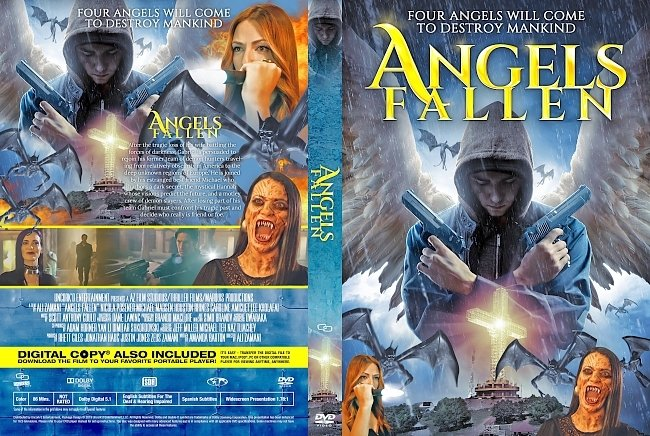 dvd cover Angels Fallen DVD Cover