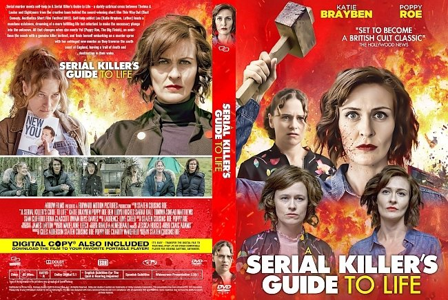 dvd cover A Serial Killer's Guide to Life DVD Cover